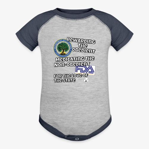 US Dept. of Education - Rewarding the Obedient... - Baseball Baby Bodysuit