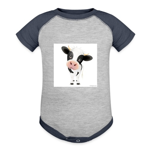 cows - Baseball Baby Bodysuit