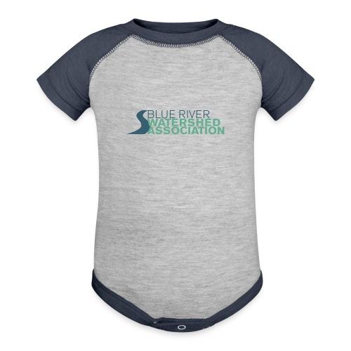 BRWA Logo - Contrast Baby Bodysuit