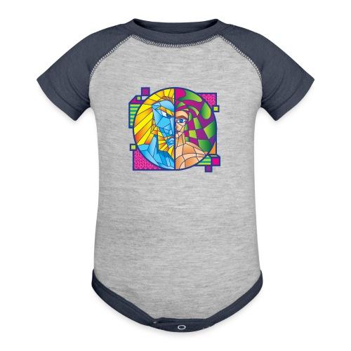Zeus & Son - Baseball Baby Bodysuit