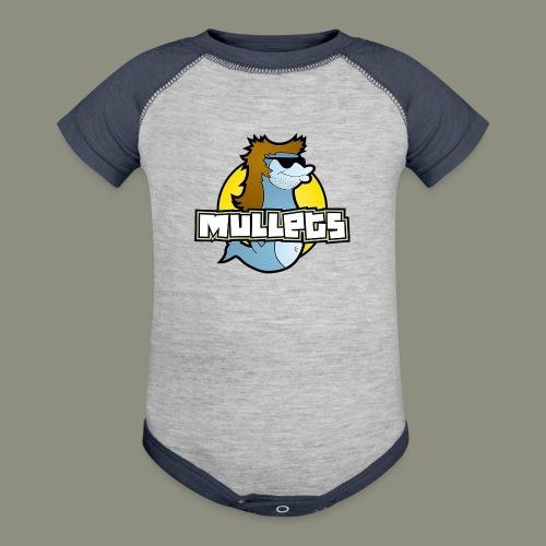 mullets logo - Baseball Baby Bodysuit
