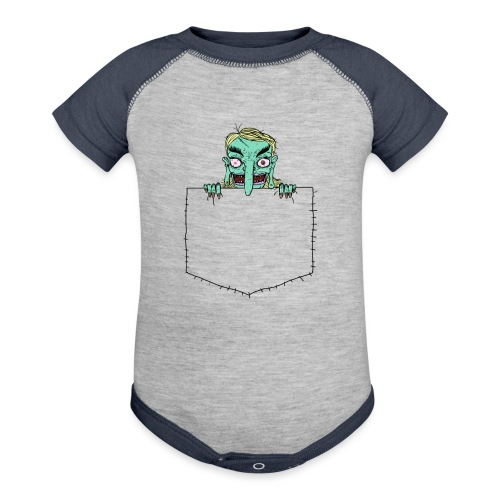 Pocket Trolls - Baseball Baby Bodysuit