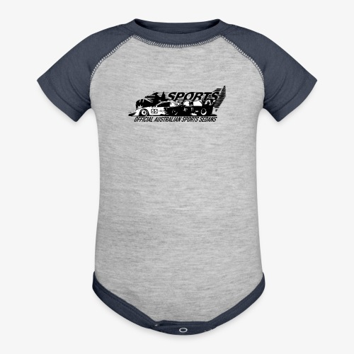 official sports sedans - Baseball Baby Bodysuit