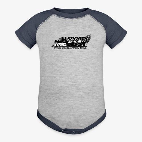 official sports sedans - Contrast Baby Bodysuit