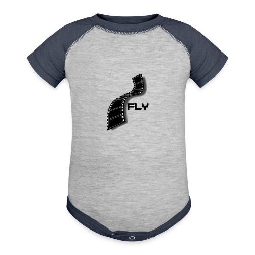 Fly LOGO - Baseball Baby Bodysuit