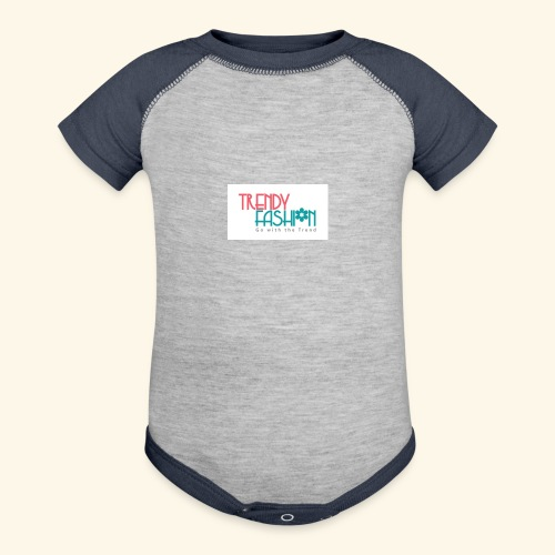 Trendy Fashions Go with The Trend @ Trendyz Shop - Contrast Baby Bodysuit