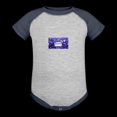 dream on - Baseball Baby Bodysuit