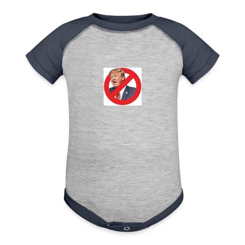 blog stop trump - Contrast Baby Bodysuit
