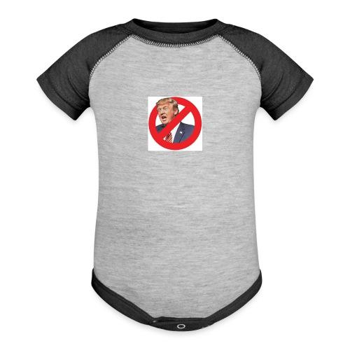 blog stop trump - Baseball Baby Bodysuit