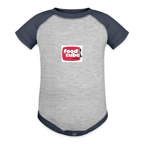 FoodTube - Baseball Baby Bodysuit