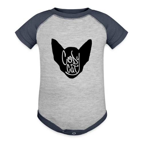 icon tag 28cm - Baseball Baby Bodysuit