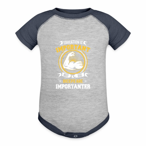 Workout is Important - Baseball Baby Bodysuit