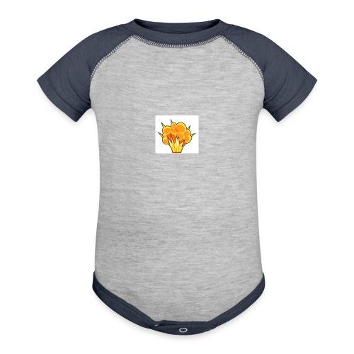 Boom Baby - Contrast Baby Bodysuit