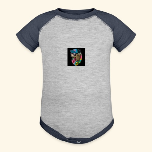 Tommy The Cats Kid and Babies wearing - Baseball Baby Bodysuit