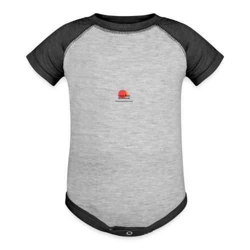 logo for lucas - Contrast Baby Bodysuit