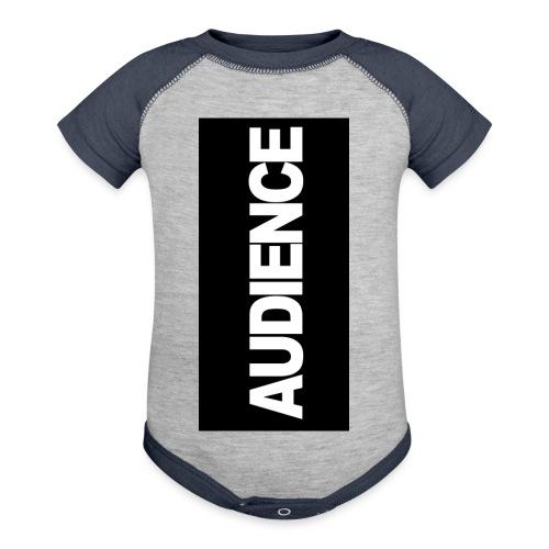 audenceblack5 - Baseball Baby Bodysuit