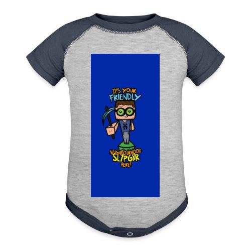 friendly i5 - Baseball Baby Bodysuit