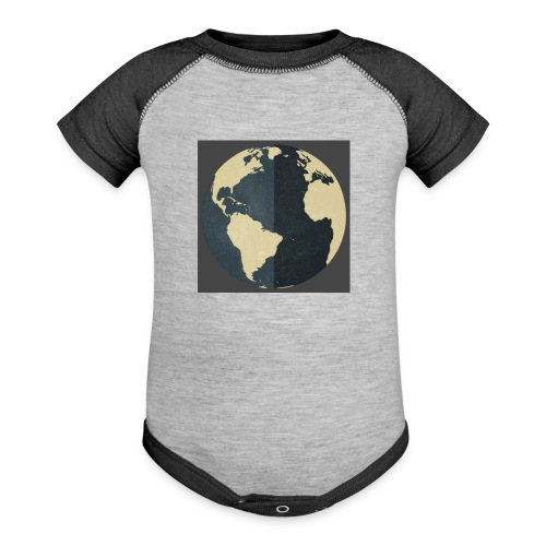 The world as one - Contrast Baby Bodysuit