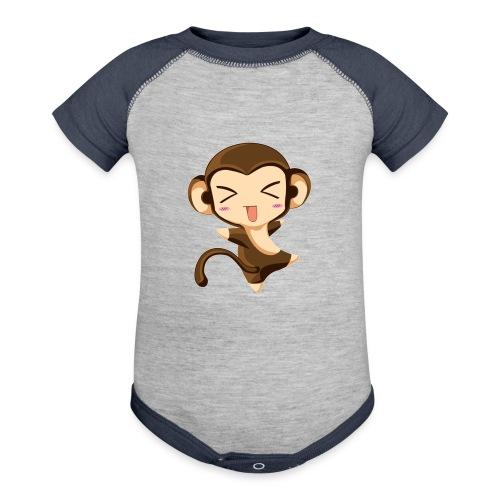 fce57bfaddd78995404bd81ada5fd5d9 - Contrast Baby Bodysuit