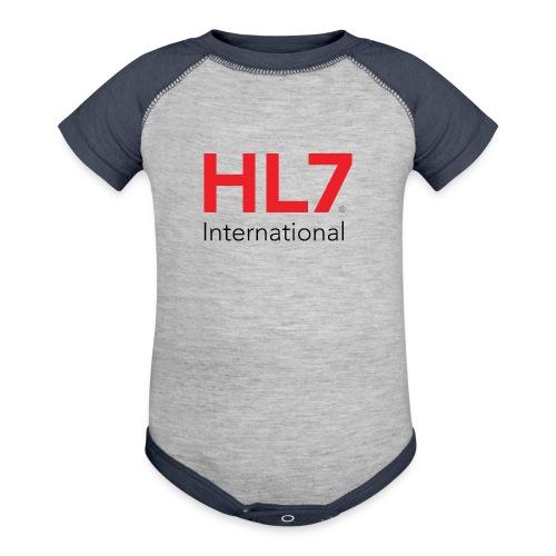 HL7 International - Baseball Baby Bodysuit