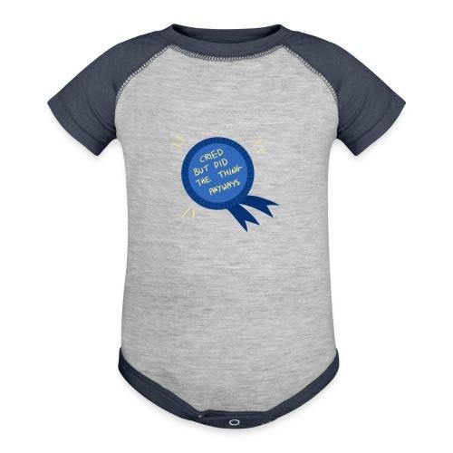 Regret - Contrast Baby Bodysuit