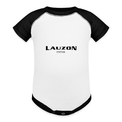 lauzonmma logo svg - Baseball Baby Bodysuit