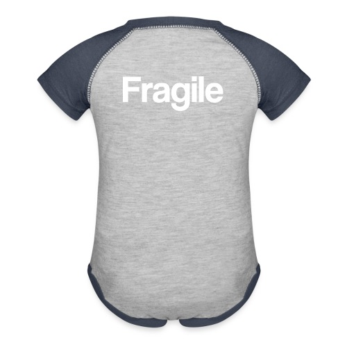 Fragile - Baseball Baby Bodysuit