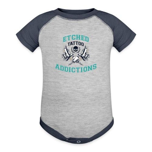 looclearbglarger - Baseball Baby Bodysuit