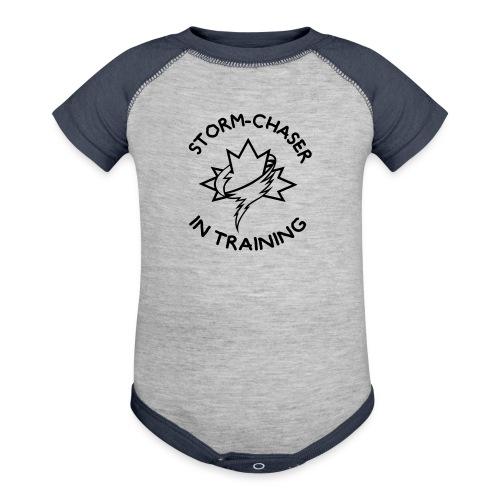 kiddesign 1 - Baseball Baby Bodysuit
