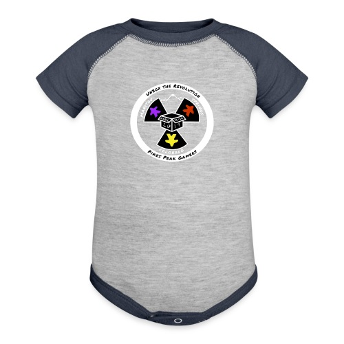 Pikes Peak Gamers Convention 2019 - Clothing - Baseball Baby Bodysuit
