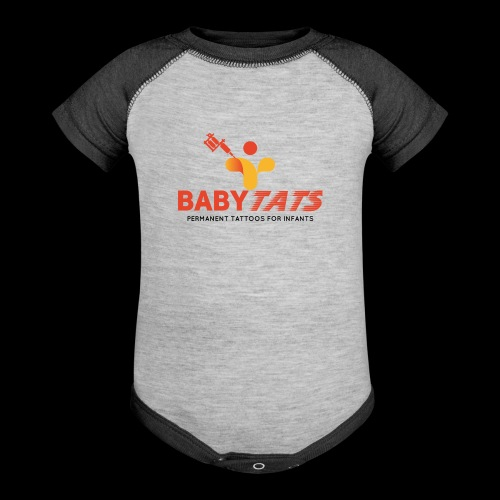 BABY TATS - TATTOOS FOR INFANTS! - Baseball Baby Bodysuit