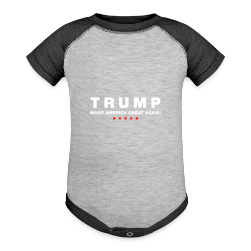 Official Trump 2016 - Contrast Baby Bodysuit
