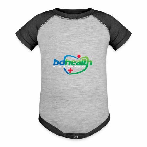 Health care / Medical Care/ Health Art - Baseball Baby Bodysuit