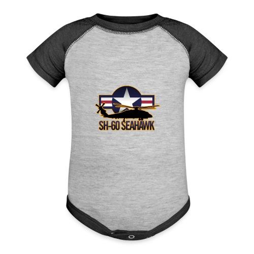 SH 60 sil jeffhobrath MUG - Baseball Baby Bodysuit
