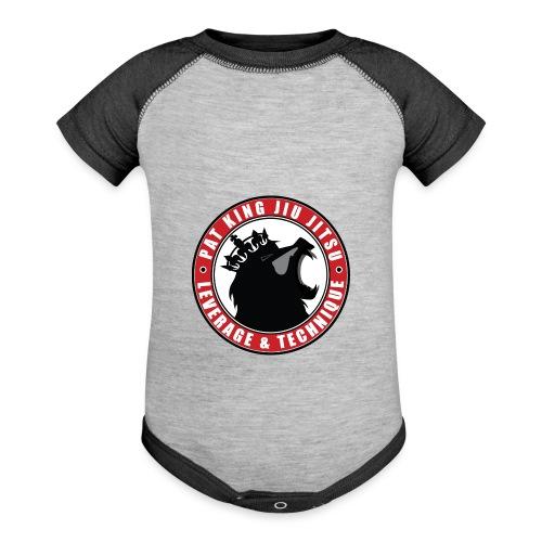 PK Merch grey22 - Baseball Baby Bodysuit