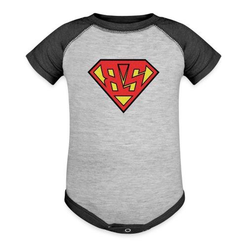 SuperBS png - Baseball Baby Bodysuit