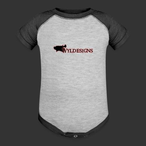 Wyldesigns Logo - Baseball Baby Bodysuit