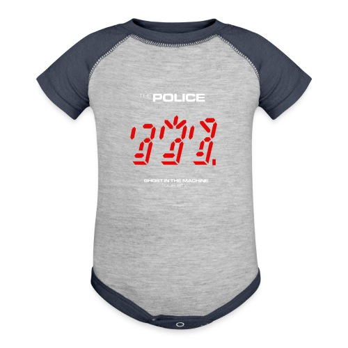 Ghost in the Machine - Baseball Baby Bodysuit