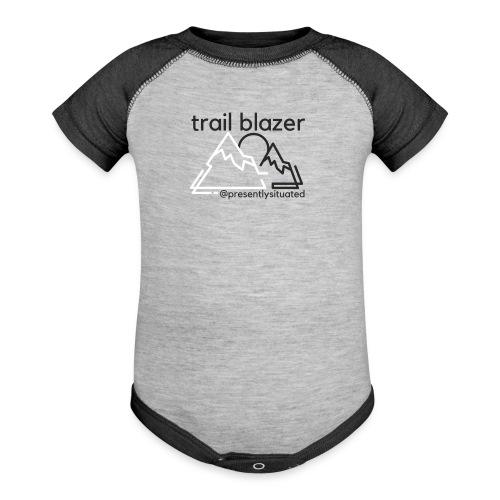 Trail blazer - Baseball Baby Bodysuit