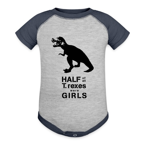 Tyrannosaurus Rex - Baseball Baby Bodysuit