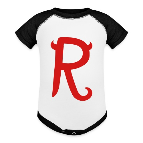 R - Baseball Baby Bodysuit
