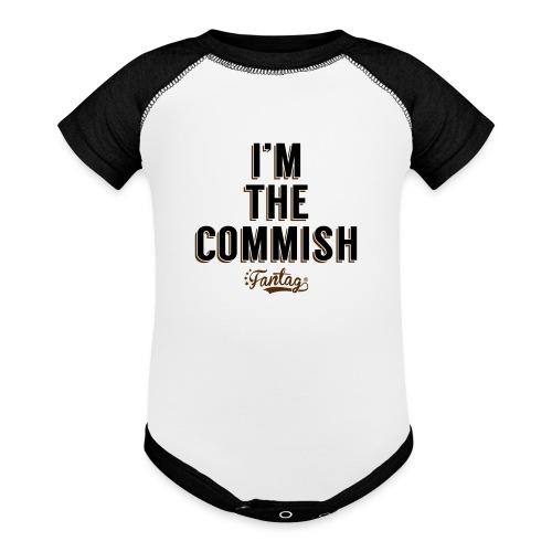 I'm the Commish: Coffee Mug - Baseball Baby Bodysuit