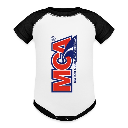 MCA Logo Iphone png - Baseball Baby Bodysuit