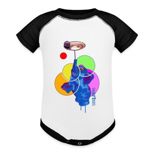 smARTkids - Mumbo Jumbo - Baseball Baby Bodysuit