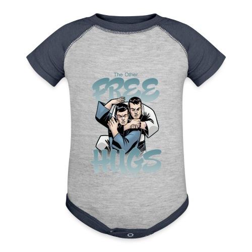 Judo shirt Jiu Jitsu shirt Free Hugs - Baseball Baby Bodysuit