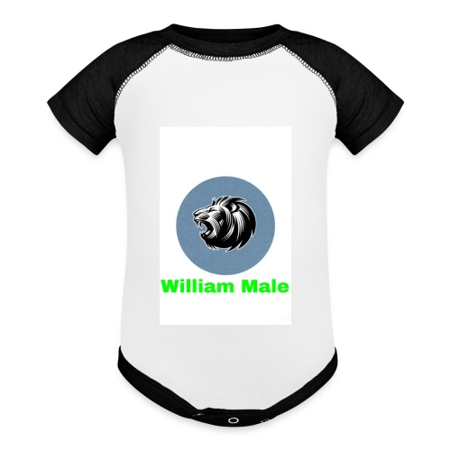 William Male - Baseball Baby Bodysuit