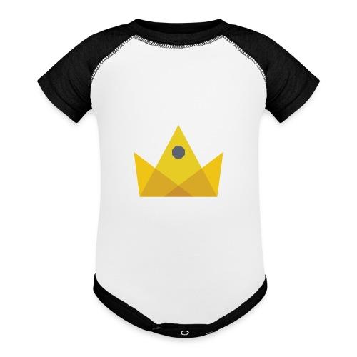 I am the KING - Baseball Baby Bodysuit