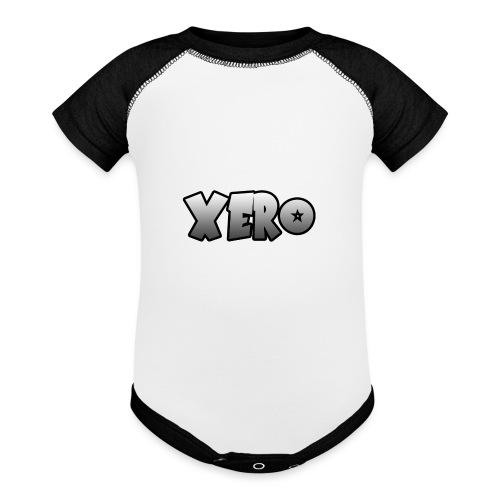 Xero (No Character) - Baseball Baby Bodysuit