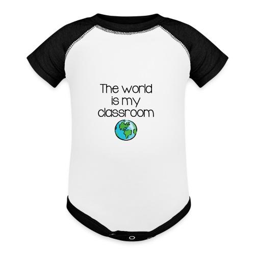 World Classroom - Baseball Baby Bodysuit
