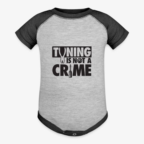 Tuning is not a crime - Contrast Baby Bodysuit